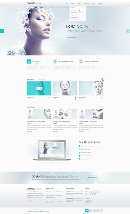 Business Website PSD Templates-17