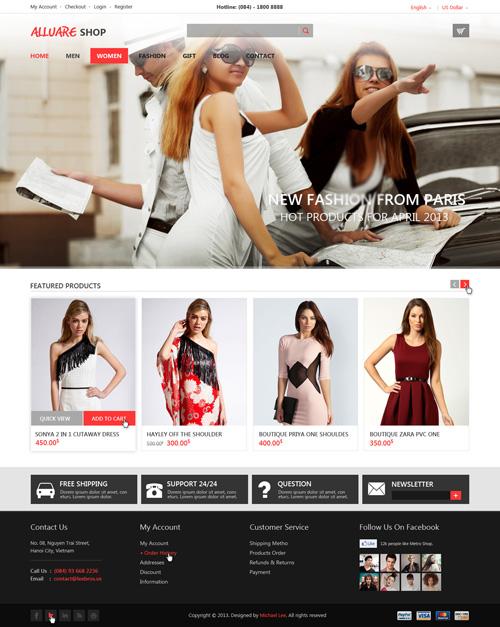 Business Website PSD Templates-18