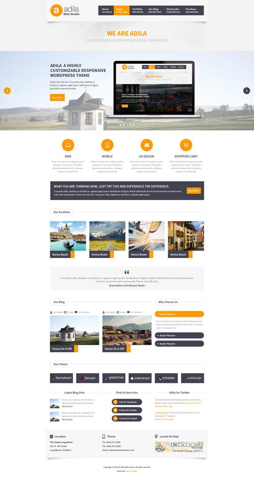 Business Website PSD Templates-19