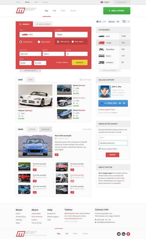 Business Website PSD Templates-21