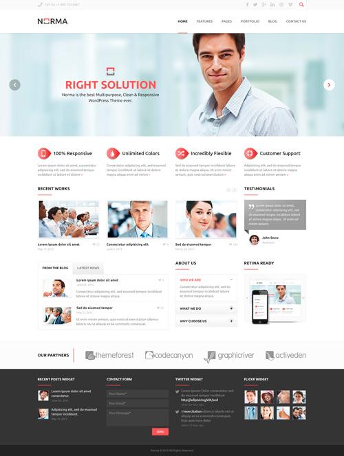 Business Website PSD Templates-23