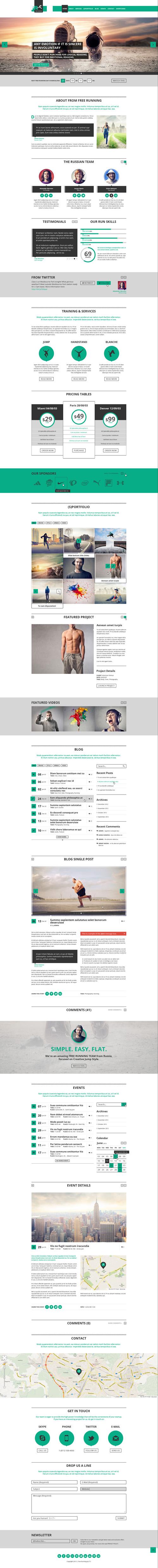 Business Website PSD Templates-24