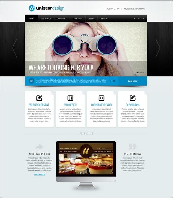 Business Website PSD Templates-3