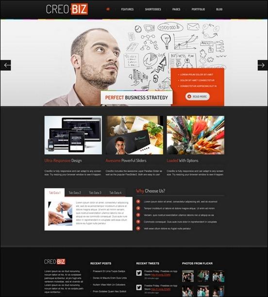 Business Website PSD Templates-4