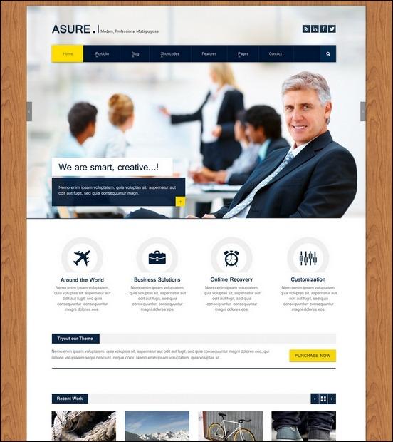 Business Website PSD Templates-5