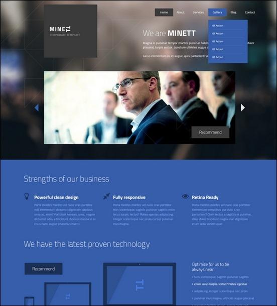 Business Website PSD Templates-6