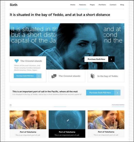 Business Website PSD Templates-7