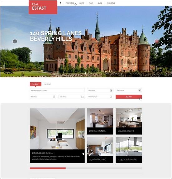 Business Website PSD Templates-8