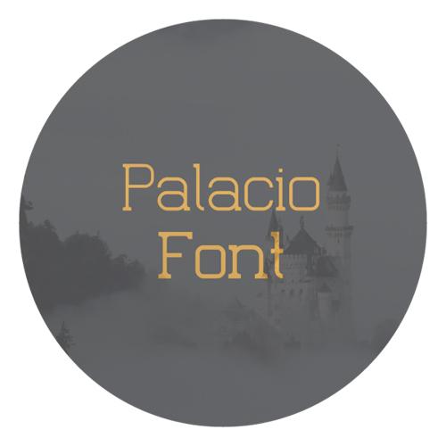 Palacio Free Fonts