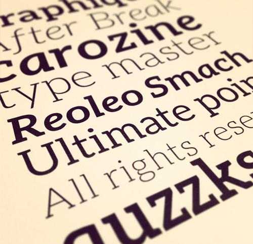 Aleo free font