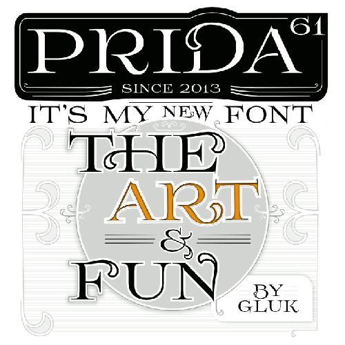Prida61 Free Fonts