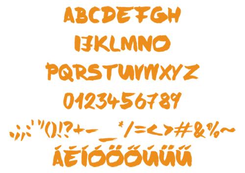 Brushy Free Fonts