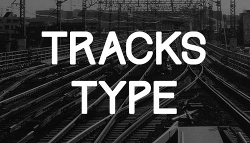 Tracks Type Free Font