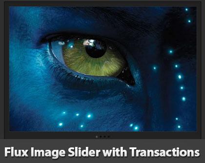 CSS3 Image Transactions Slider: Flux Slider