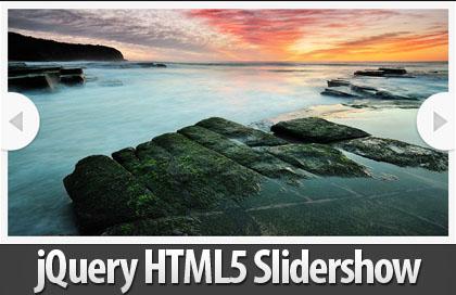 jQuery HTML5 Slidershow