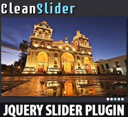 jQuery Slider Plugin : CleanSlider