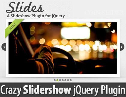 Crazy Slidershow jQuery Plugin: Slides