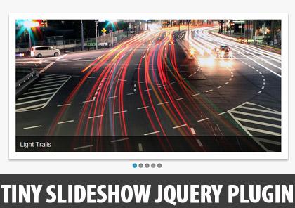 A Tiny Slideshow jQuery Plugin: Craftyslide