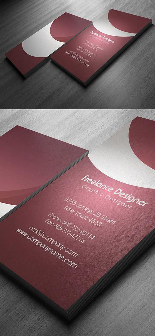 Freelance Designer Business Card