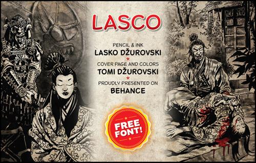 Lasco Free Font