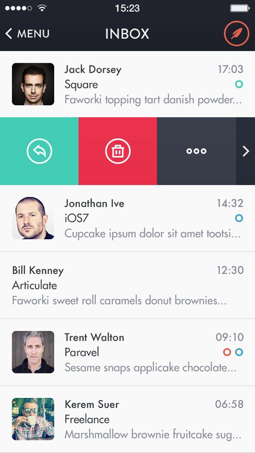 Mochila Mail iOS7