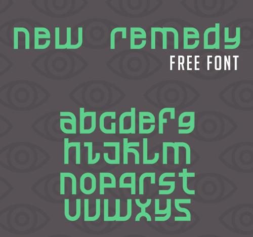 New Remedy Free Font