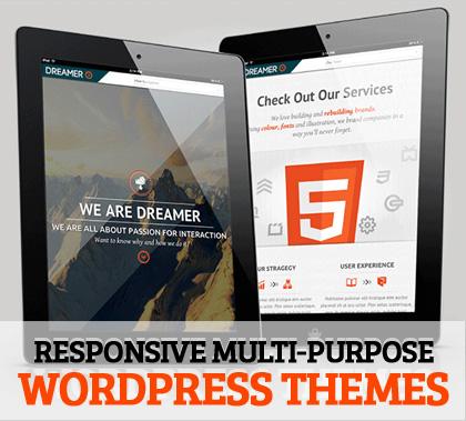WordPress Themes Multipurpose & Responsive