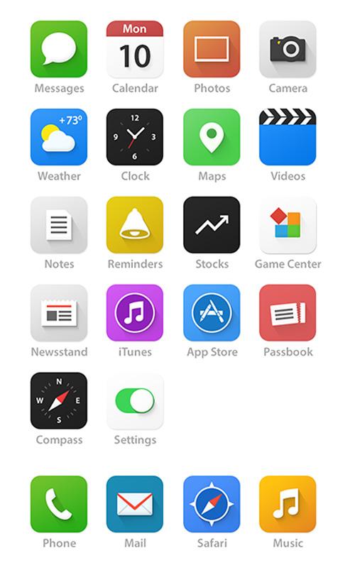 iOS 7 - Redesign UIUX