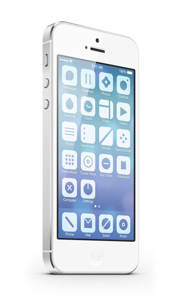 iOS7 - Minimalist Concept