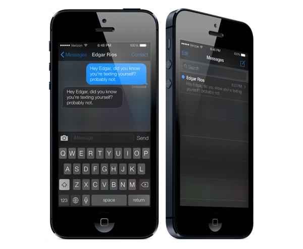 iOS7 Black