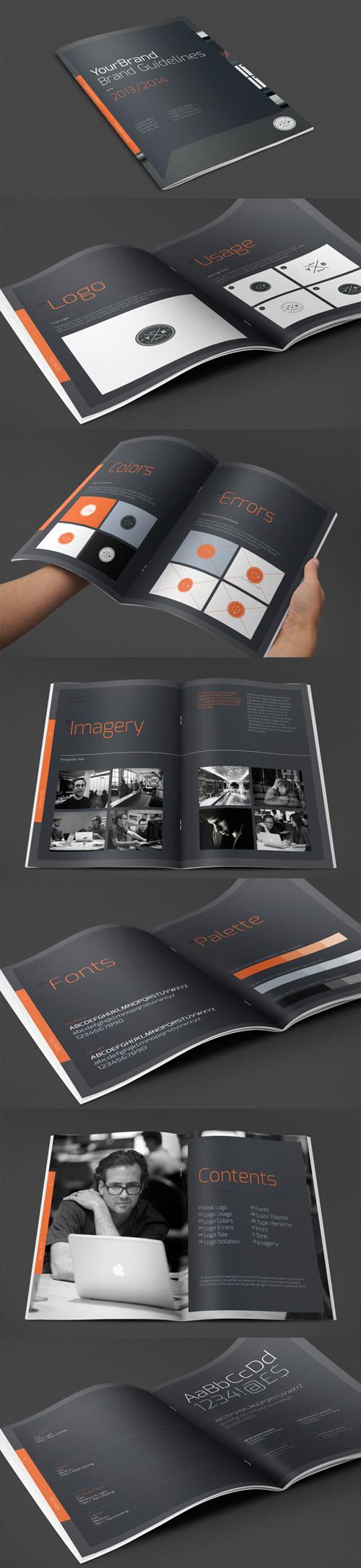 Brand Guidelines Brochure Design
