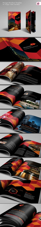 Hexagon Brochure Template