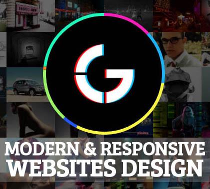 Modern Responsive Websites Design