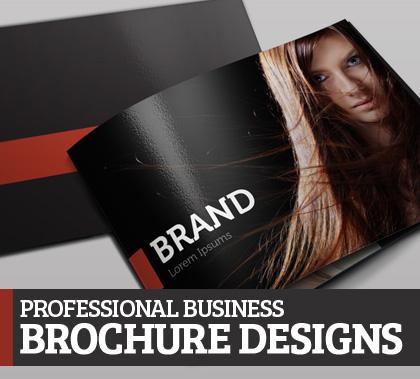 Professional business brochure designs