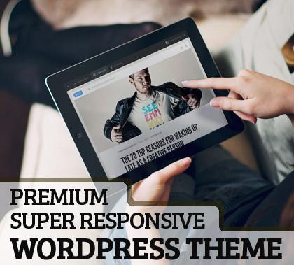 Modern and Super Responsive WordPress Themes
