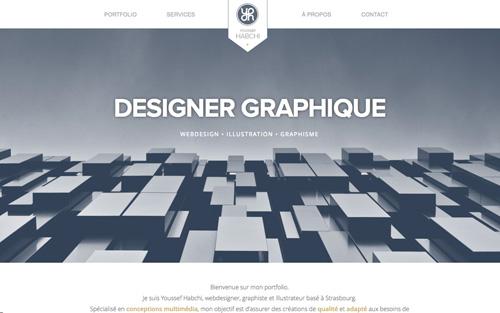 Youssef Habchi1 One Page Website Design