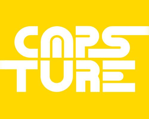 Capsture free font