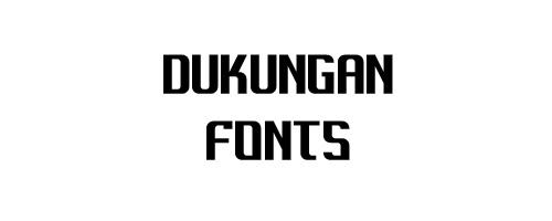 Dukungan Free Font