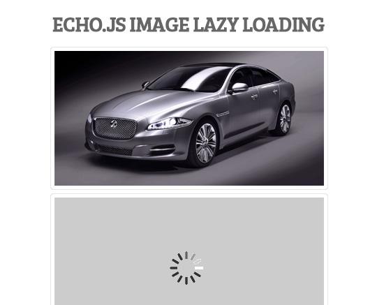 Echo.js: Simple JavaScript Image Lazy Loading