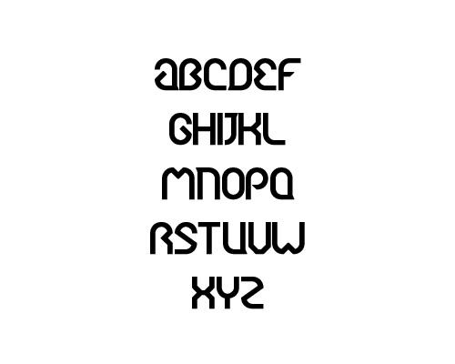 Ergono Free Font Typography / Lettering