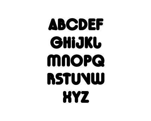 Garoa Hacker Clube Free Font Typography / Lettering