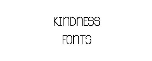 Kindness Free Font