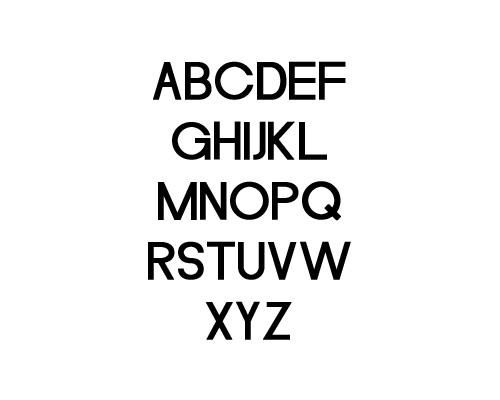 Merula Free Font Typography / Lettering