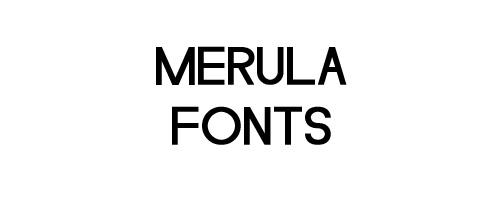 Merula Free Font