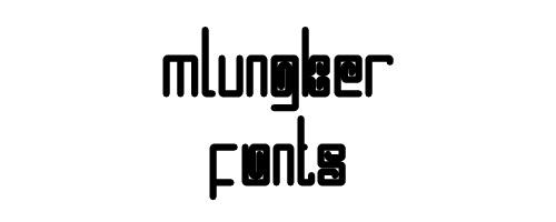 Mlungker Free Font