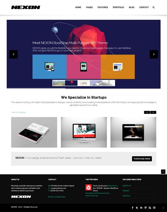 NEXON - Business WordPress Theme