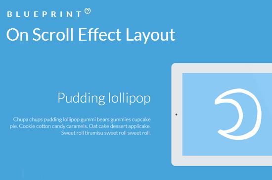 On Scroll Effect Layout: Beautiful Scroll Effects