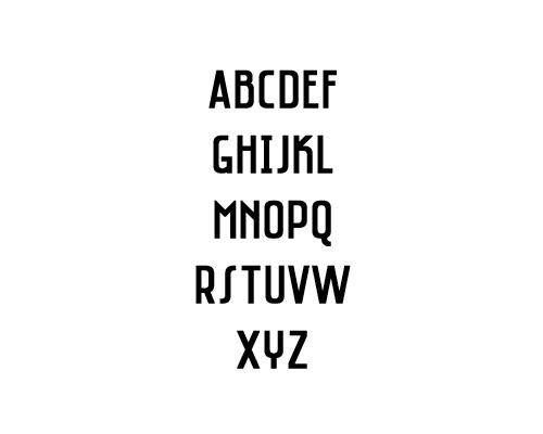 Saniretro Free Font Typography / Lettering