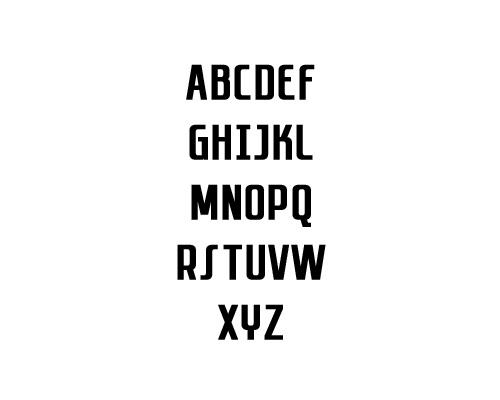 Sanitechtro Free Font Typography / Lettering