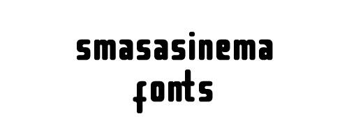 Smasasinema Free Font
